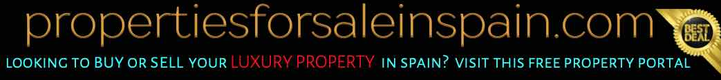 Luxury properties for sale and to buy in Spain
