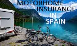 Motorhome, Campervan and RV insurance in Spain