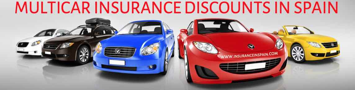 Multi-car insurance discounts in Spain in English