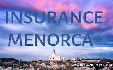 Get a quote for boat and marine insurance on Menorca Minorca Spain in English