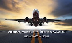 Aircraft, Drone, Microlight and model aircraft insurance in Spain