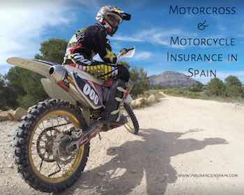insurance in spain for motorcross motorcycles enduro scooters and bikes