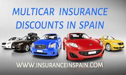 Get a quote for multi car insurance discounts in Spain