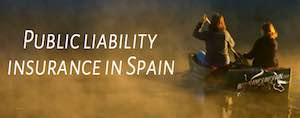 public liability insurance in Spain for business