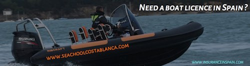 RYA boat licences in Spain, Spanish boat licences. Jet Ski licences.