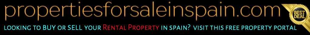 Free advertising website for rental property in Spain