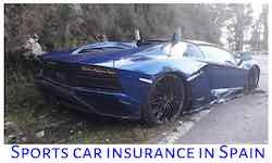 Sports car insurance in Spain