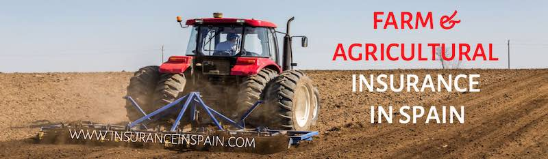 Farmhouse and agricultural equipment insurance in Spain Portugal