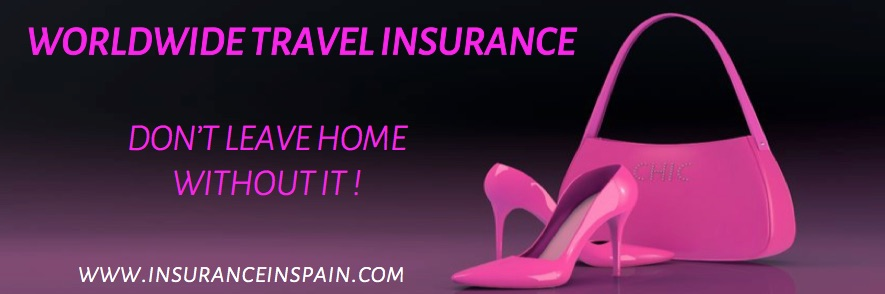 Worldwide, international travel insurance, Spain, Portugal, Gibraltar,, UK, Europe
