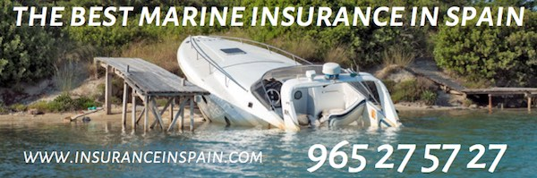 www.insuranceinspain.com for the best boat insurance in Spain