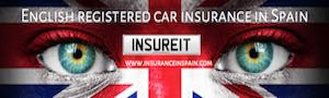 car insurance in spain UK british plates spanish