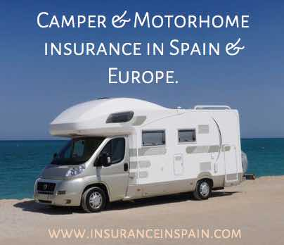 cheap motorhome and camper van insurance in spain