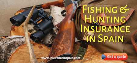 insurance in spain for fishing and hunting to cover rods tackle and guns