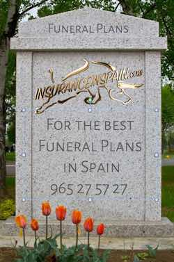 funeral plans and life insurance in spain for expats and british residents in spain