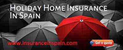 holiday home, villas and house insurance in spain with buildings and contents cover