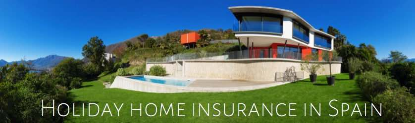 holiday home insurance in spain with rental insurance cover