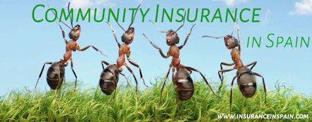 community insurance in spain for urbanisations