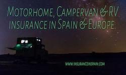 cheap motorhome insurance in spain camper van insurance