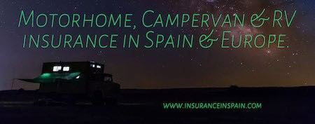 motohome campervan insurance in spain cheap costa blanca