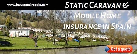 static caravan and mobile home insurance in spain
