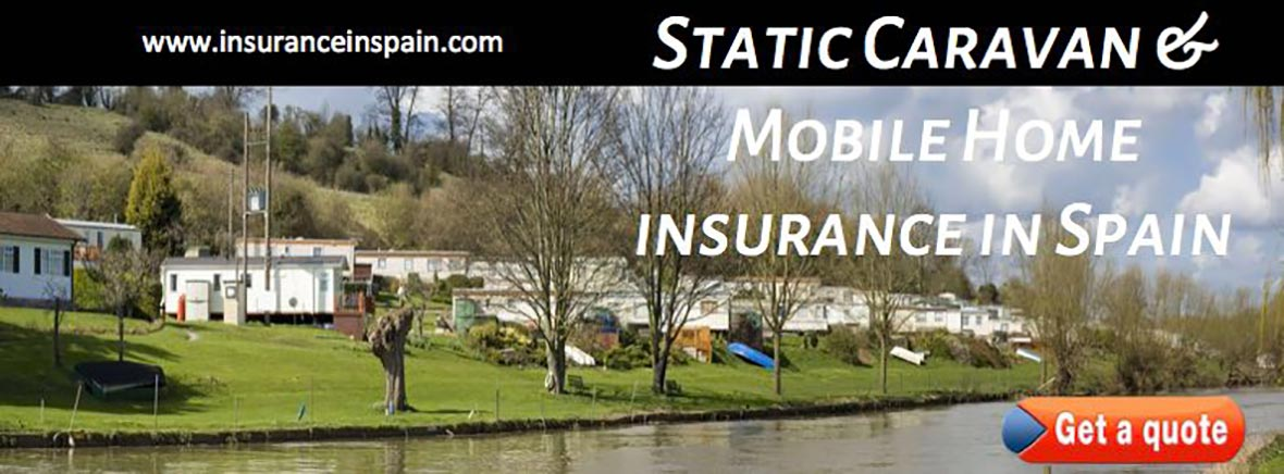 static caravans and mobile home insurance in spain and europe