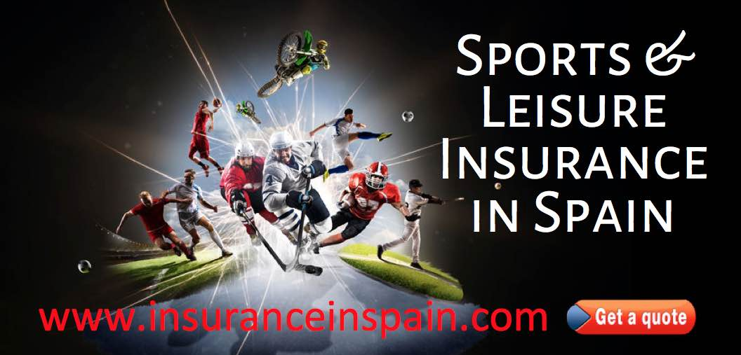 insurance for sports and leisure activities in spain