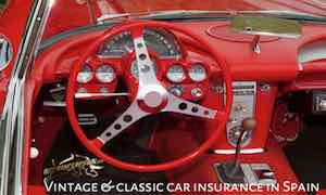 uk plated classic or vintage car insurance in spain